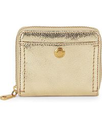 Cole Haan - Benson Ii Leather Zip-around Wallet - Lyst