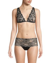 408aaca1a2d73 Mimi Holliday By Damaris Penguin Triangle Lace Bra - For Women in ...