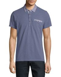 Saks Fifth Avenue - Casual Cotton Polo - Lyst