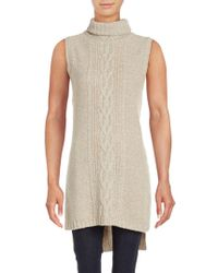 Saks Fifth Avenue - Turtleneck Wool Blend Jumper - Lyst