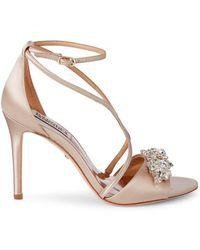 Badgley Mischka Vanessa Embellished Sandals - Multicolour