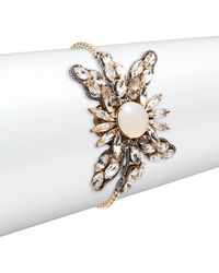 Tataborello - Pearl & Crystal Bracelet - Lyst