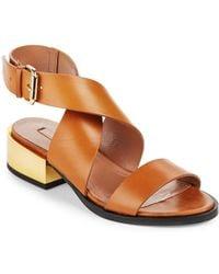 BCBGMAXAZRIA - Briella Ankle Strap Sandals - Lyst