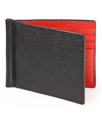 Bally - Leather Money Clip Wallet - Lyst