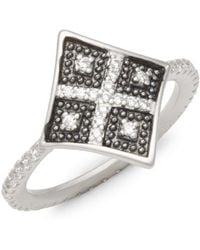 Freida Rothman - Contemporary Deco Cocktail Ring - Lyst