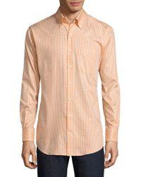 Peter Millar - Gingham Cotton Button-down Shirt - Lyst