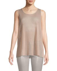 Alo Yoga - Lucid Mesh Tank Top - Lyst
