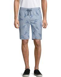 Sovereign Code - Plot Lobster Cotton Shorts - Lyst