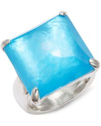 Ippolita - Mother-of-pearl, Clear Quartz & Sterling Silver Wonderland Ring - Lyst