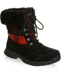 UGG - Butte Waterproof Buffalo Check UGGPure Winter Boots - Lyst