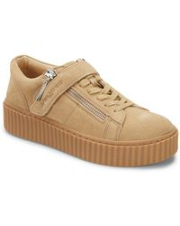 J/Slides - Papper Leather Platform Trainers - Lyst