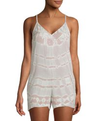 Young Fabulous & Broke - Fedora Cut-out Romper - Lyst
