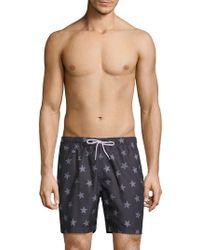 Trunks Surf & Swim - American Star-print Sano Swim Shorts - Lyst