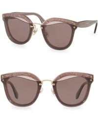 31aebda3efe6 Rag   Bone - Injected Women s 65mm Irregular Sunglasses - Lyst