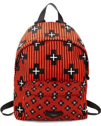 Givenchy - Ip Geometric Printed Back Pack - Lyst