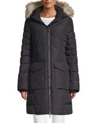 Pajar - Layla Fox Fur-trimmed Hooded Coat - Lyst