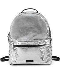 Kendall + Kylie - Billie Metallic Backpack - Lyst