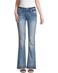 Miss Me - Embellished Pocket Easy Bootcut Jeans - Lyst