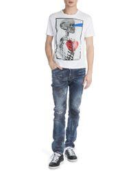 Viktor & Rolf - Skull Profile Heart T-shirt - Lyst
