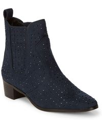 BCBGeneration - Ryan Jewel Embellished Ankle Boots - Lyst