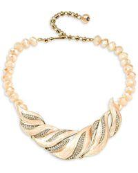 Heidi Daus - Crystal-embellished Statement Necklace - Lyst
