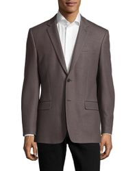 Versace - Cotton Two-button Sportcoat - Lyst