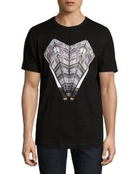 36 Pixcell - Cotton Graphic Tee - Lyst