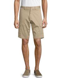 Paul & Shark - Flat Front Shorts - Lyst