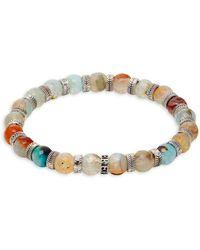 Perepaix - Multi-tone Regalite Beaded Bracelet - Lyst