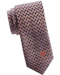 Versace - Wavy Silk Tie - Lyst