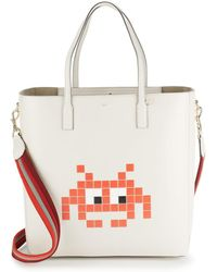 Anya Hindmarch - Ebury Space Invader Tote - Lyst
