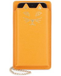 Charlotte Olympia - Feline Iphone 5 Leather Case - Lyst