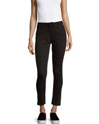 Brockenbow - Reina Mid-rise Cropped Jeans - Lyst