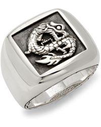 John Hardy - Legends Naga Sterling Silver Ring - Lyst