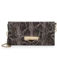 Versace - Leather Wallet On Chain - Lyst
