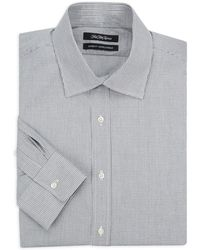 Saks Fifth Avenue - Gingham Cotton Dress Shirt - Lyst