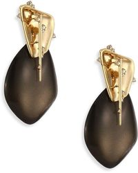Alexis Bittar - Lucite Liquid Clip-on Earrings - Lyst