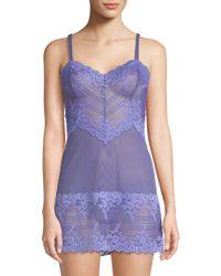 Wacoal - Embrace Lace Chemise - Lyst
