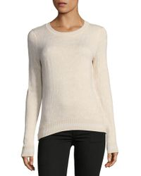 Saks Fifth Avenue - Roundneck Sweater - Lyst