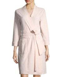 Carole Hochman - Collection Stripe Terry Robe - Lyst
