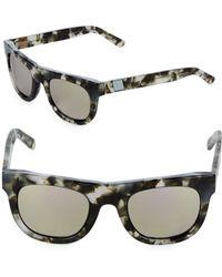 Westward Leaning - Pharoah 49mm Pepper Square Sunglasses - Lyst