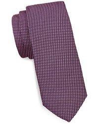 Eton of Sweden - Silk Dotted Tie - Lyst