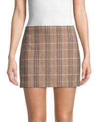 138b3cefed80 Alice + Olivia Elana Camouflage Mini Skirt in Black - Lyst