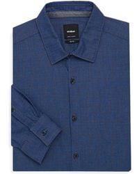 Strellson Sidney Cotton Dress Shirt - Blue