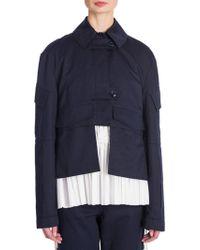 Marni - Long-sleeve Cotton Jacket - Lyst