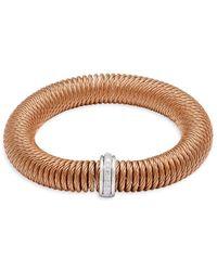 Alor - Diamond & 18k Yellow Gold Bracelet - Lyst