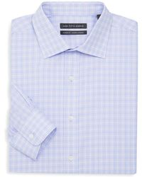 Saks Fifth Avenue - Classic Fit Accent Check Dress Shirt - Lyst