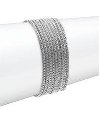 John Hardy - Sterling Silver & Diamond Bracelet - Lyst