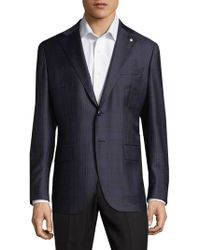 Lubiam - Patterned Wool Sportcoat - Lyst