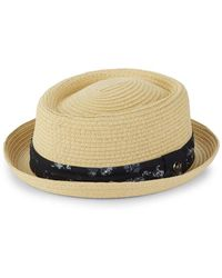 Ben Sherman - Classic Panama Hat - Lyst